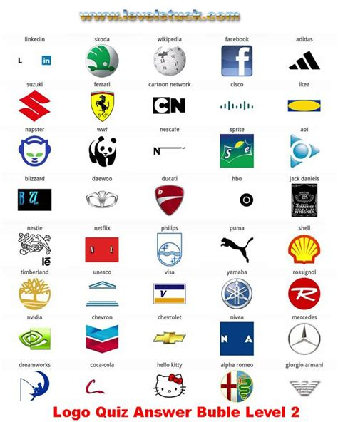 printable logo quiz with answers 20 best logo quiz respuestas images on pinterest puzzle