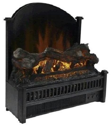 comfort glow electric log with reflector contemporary