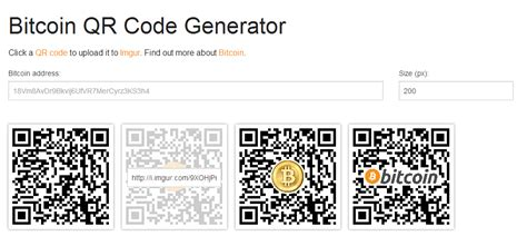 bitcoin qr code generator help faq how to use scutify