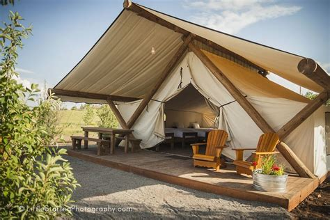 glamping  bear lake conestoga ranch tent design tent