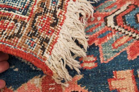 worn rugs worn authentic antique heriz rug circa 1900 at 1stdibs