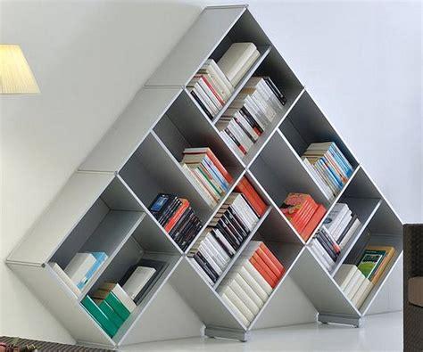 model rak buku minimalis  unik terbaru  dekor