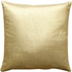 tuscany linen gold metallic 16x16 throw pillows