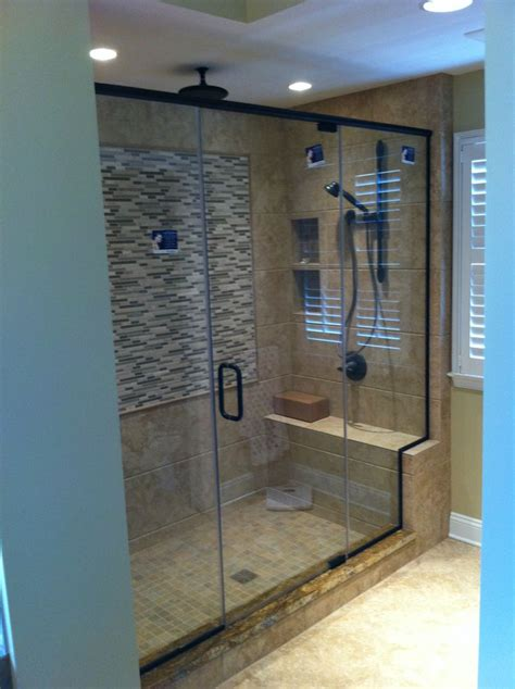 Custom Showers 1000 Ideas About Custom Shower Doors On