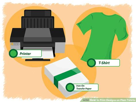 how to print designs on t shirts at home 3 ways to print designs on plain tshirts wikihow