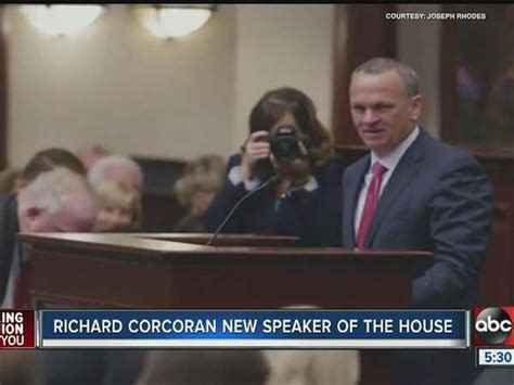 new house speaker richard corcoran new speaker of house one news page video