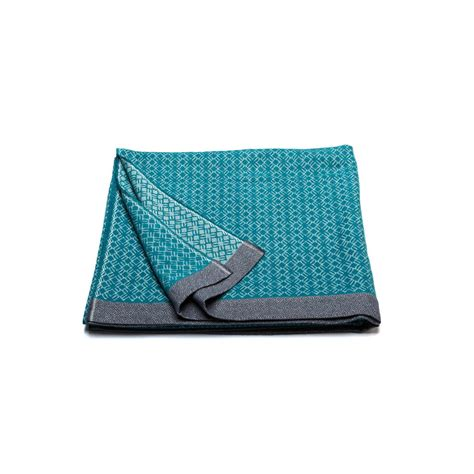 Plaid Bleu Turquoise plaid bleu turquoise de grande taille