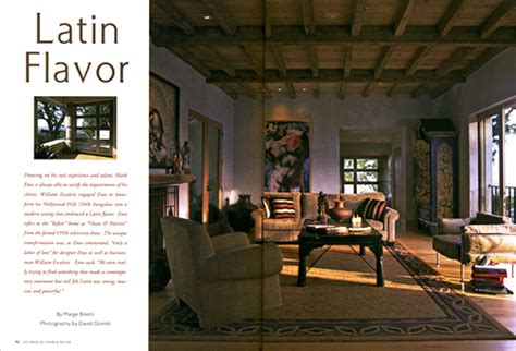 los angeles home decor los angeles home d 233 cor magazine press enos reese co
