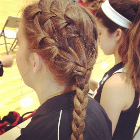 cute hairstyles for volleyball 17 best images about volleyball hair on pinterest