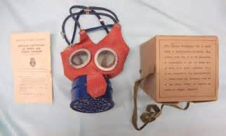 gas mask template mint original boxed ww2 1942 child s mickey