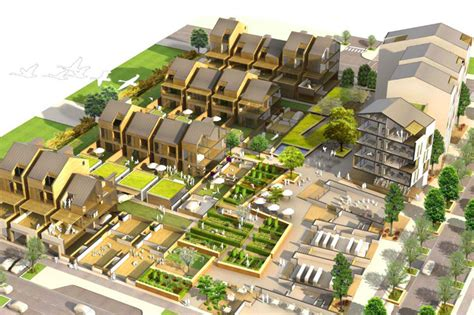 design village competition earthquake resistant eco village wins christchurch s