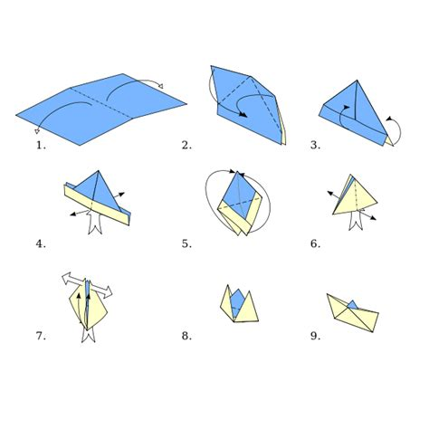 Ship Origami - file origami boat svg wikimedia commons