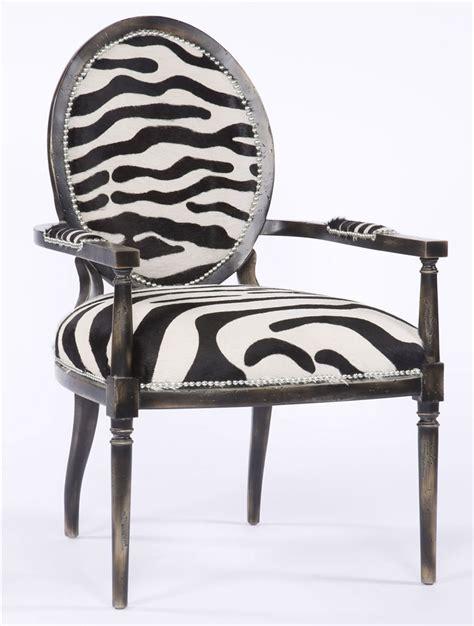 zebra armchair zebra stripe high end arm chair 524