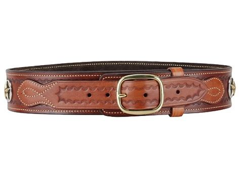 ross leather classic cartridge belt 45 cal leather tooling