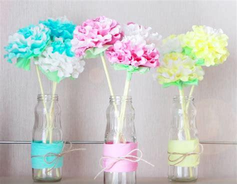 realizzare fiori con tovaglioli di carta decorazioni con i tovaglioli di carta tutorial come fare