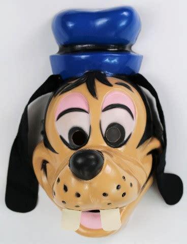 Loz Block Mickey Captai America Costume Large vintage walt disney goofy mask cesar costume