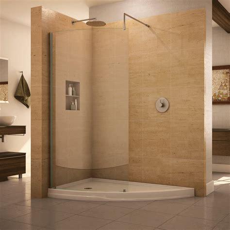 Shower Doors Winnipeg Fleurco Eclipse Curved Glass Walk In Shower
