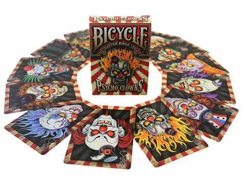 Whispering Imps Workers Edition Cards Bonus Deck buy magic tricks bicycle psycho clowns card