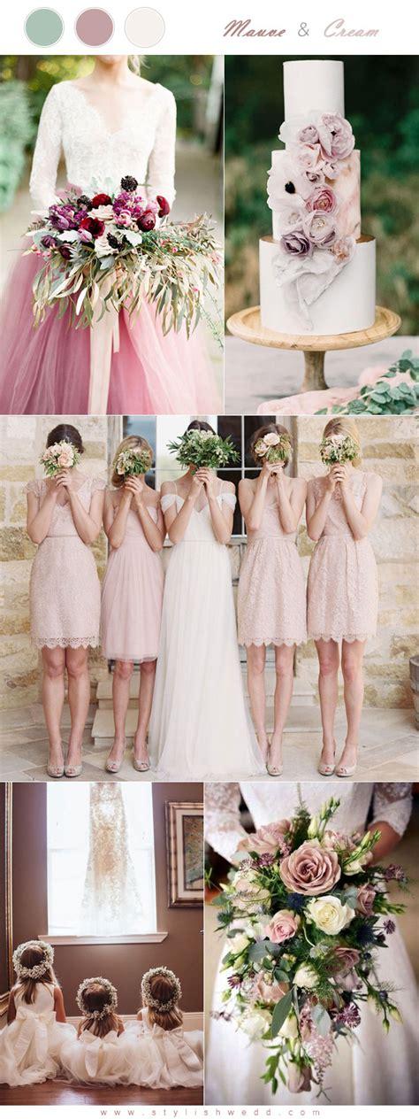mauve color scheme the 6 mauve wedding color palettes to die for
