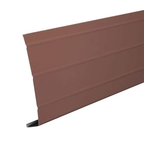 Whereto Buy Vinyl Siding - amerimax home products 6 in x 12 ft aluminum fascia trim