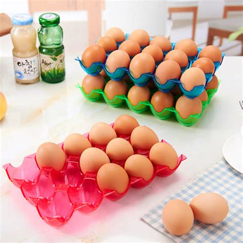 Refrigerated Eggs Shelf by 15 Grid Egg Storage Box Refrigerator Anti Broken Egg Box Kitchen Storage Alex Nld