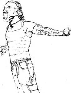 Wwe Jeff Hardy Coloring Pages Printable
