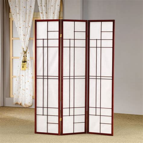 elegant room dividers design ideas elegant 3 panel geometric pattern folding