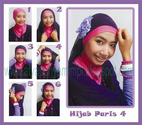 tutorial rajut turban tutorial hijab paris cahaya suci