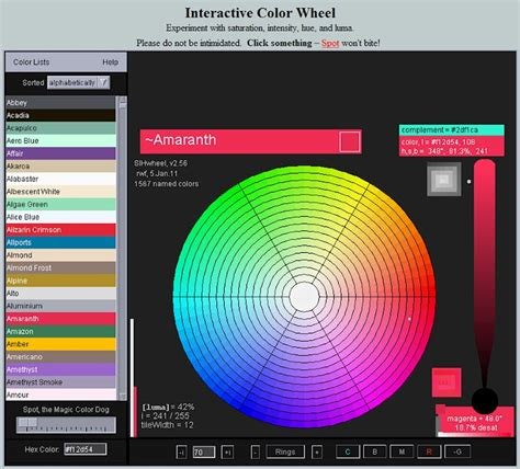 interactive color wheel crafts