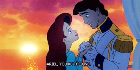 Eric And To Co by The Mermaid Eric And Ariel Gif Find On Giphy