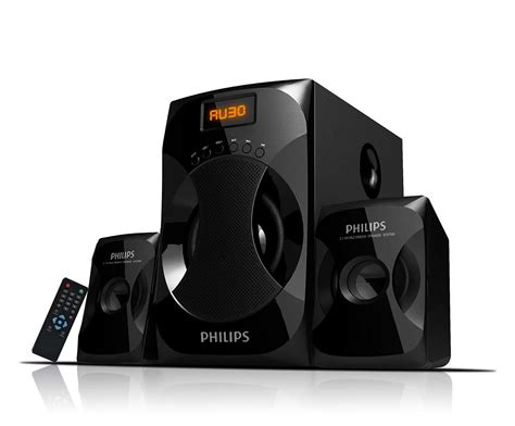 multimedia speakers 2 1 mms4040f 94 philips