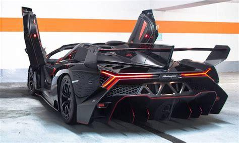 Lamborghini Veneno Roadster Black Carbon