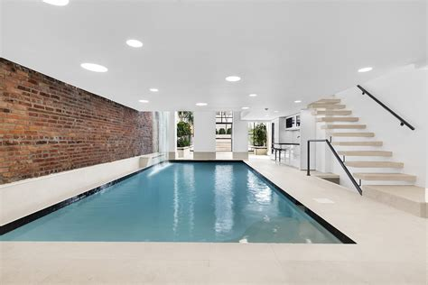 Residences Evelyn Floor Plan by This 12m Chelsea Townhouse Has A 30 Foot Saltwater Pool