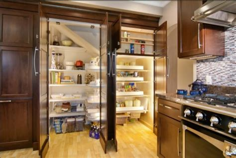 cool kitchen designs 47 cool kitchen pantry design ideas shelterness