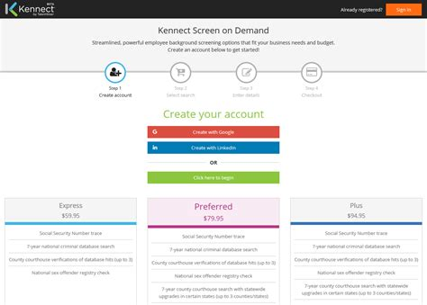 Sterling Talent Solutions Background Check Review Kennect On Demand Background Screening For Small Businesses