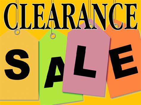 Clearance Templates Retail Sale Signs Templates Free