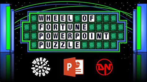 Wheel Of Fortune Powerpoint Puzzle Youtube Wheel Of Fortune Power Point