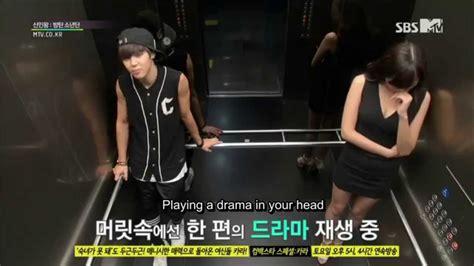 bts elevator prank eng sub rookie king channel bts 방탄소년단 hidden camera cut