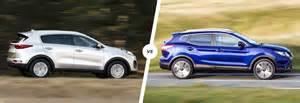Kia Vs Nissan Kia Sportage Vs Nissan Qashqai Comparison Carwow