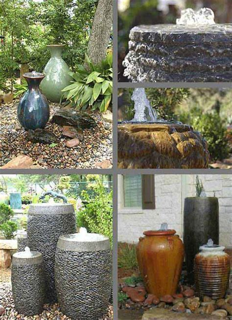 water feature designs 25 diy water features will bring tranquility relaxation
