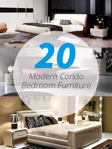 Condo Bedroom Furniture 20 Crisp Modern Condo Bedroom Furniture For Uncluttered