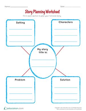 Story Planning Worksheet up the phoneme lesson plan education