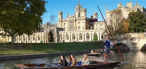 punt boat tour cambridge history of punting scudamore s punting cambridge