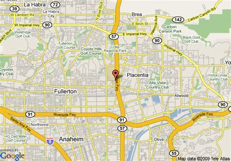 california map fullerton pin fullerton college map on
