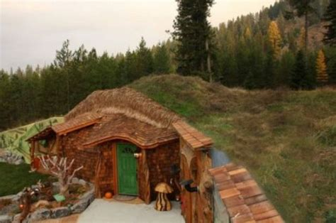 real hobbit house plans hobbit
