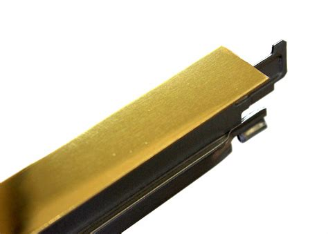 tee section polished gold cross tee section 1200mm x 24mm