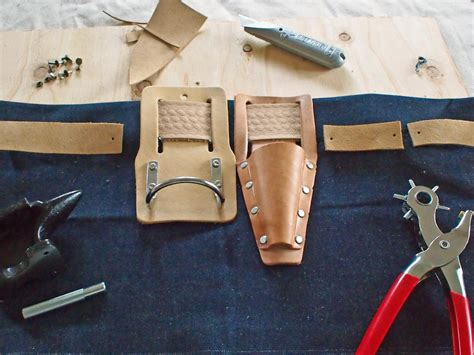 Handmade Tool Belt - how to make a barbecue tool belt hgtv
