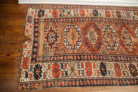 4 x 9 rug antique kazak rug 1497 westchester ny rugs