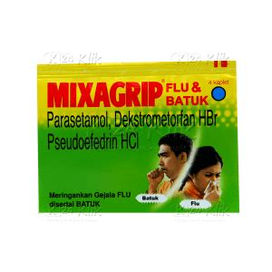 Mixagrip Flu Isi 4 Kaplet jual beli mixagrip flu batuk tab k24klik