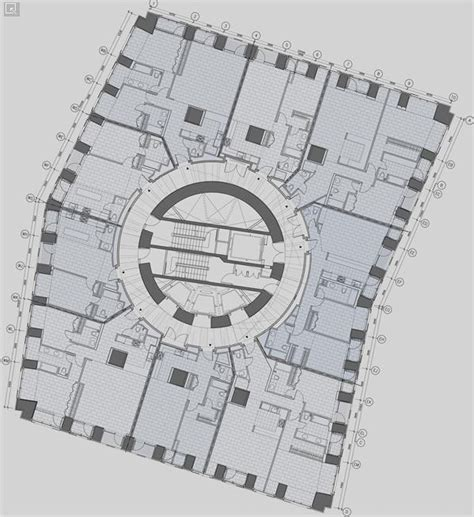 cayan tower floor plan bim cayan tower cayan tower